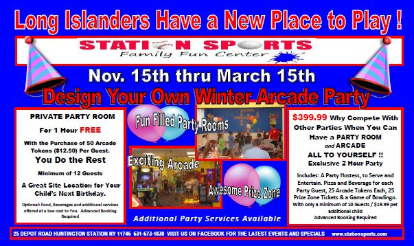 Station Sports Winter Party Specials